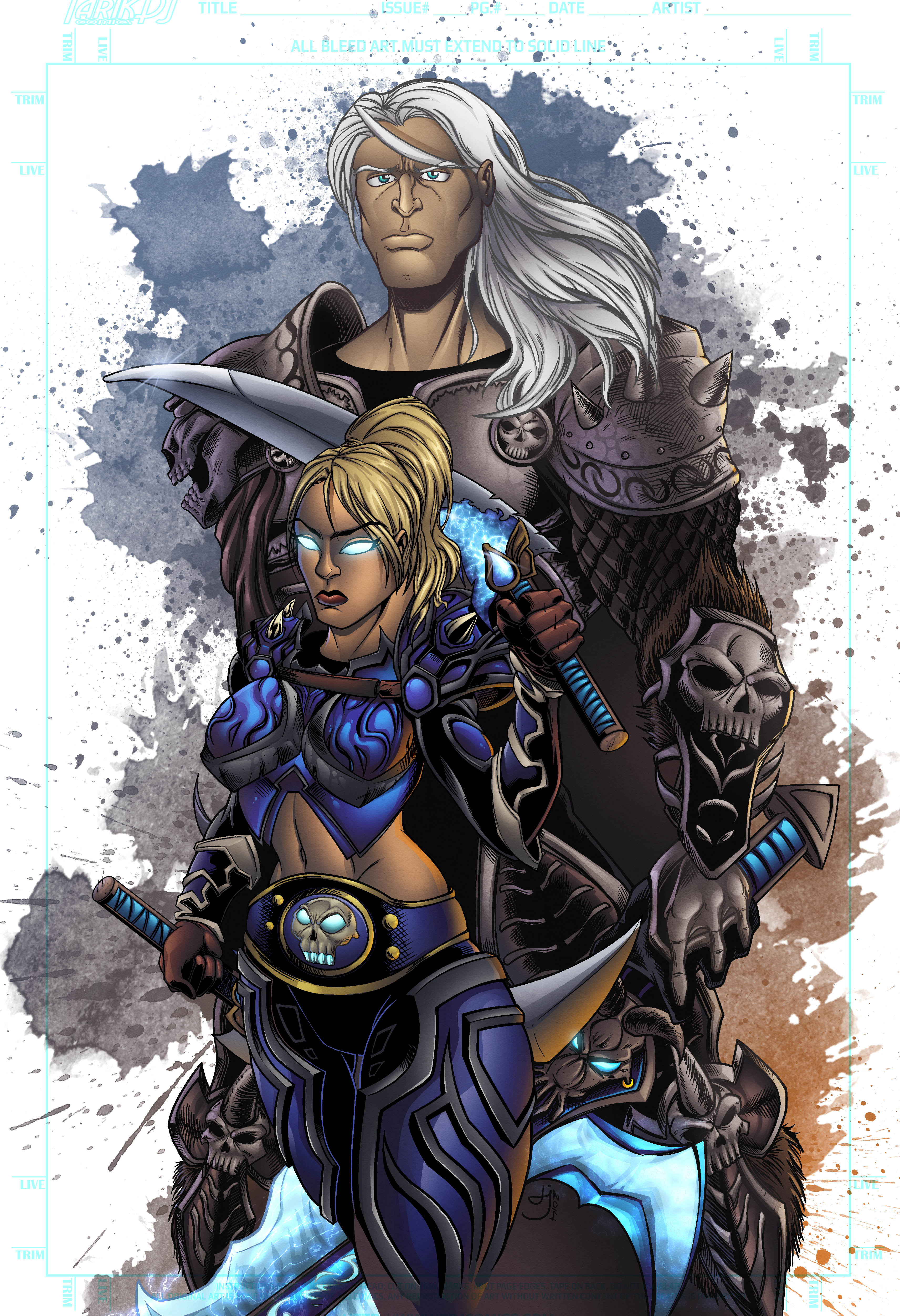 arthas-warcraft-colors