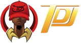 TDJ Comics Studio Mobile Logo